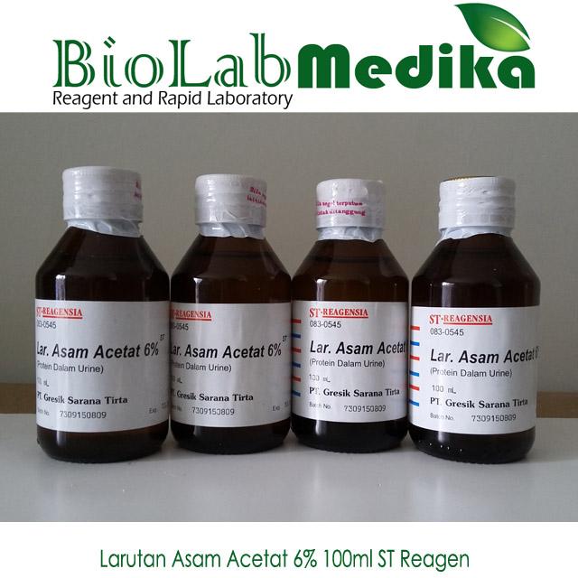 Larutan Asam Acetat 6% 100ml ST Reagen