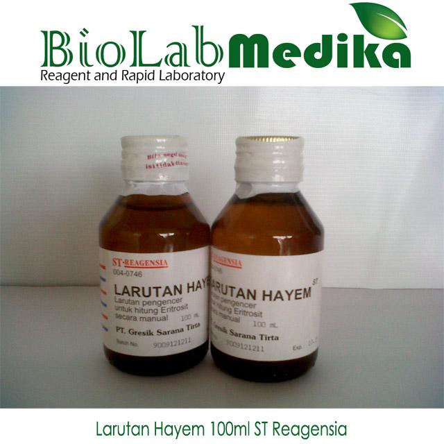 larutan hayem 100ml ST Reagensia murah