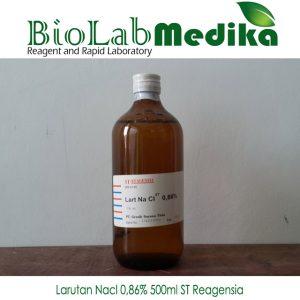 Larutan Nacl 0,86% 500ml ST Reagensia