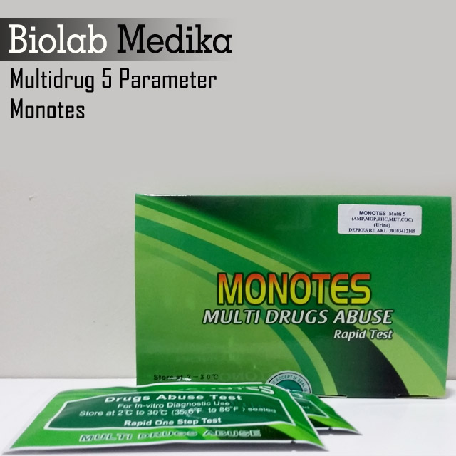 Multidrug 5 Parameter Monotes