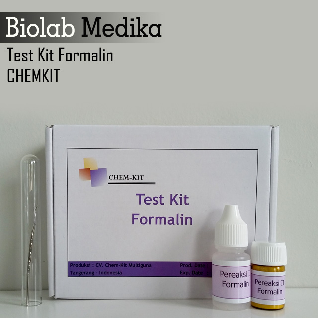 Test Kit Formalin Chemkit