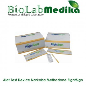 Rapid Test Device Narkoba Methadone RightSign