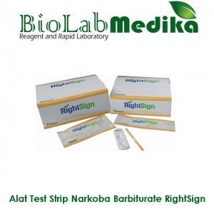 Rapid Test Strip Narkoba Barbiturate RightSign