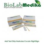 Rapid Test Device Narkoba Cocain RightSign