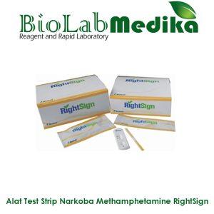 Rapid Test Strip Narkoba Methamphetamine RightSign
