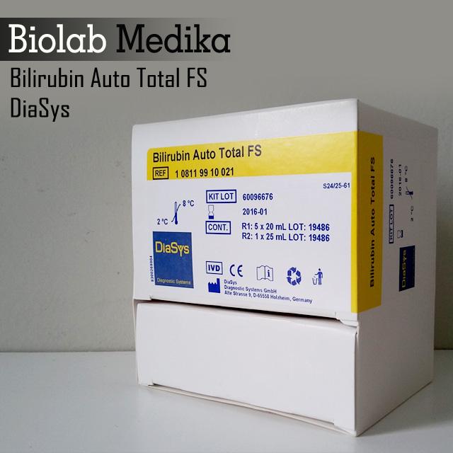 Bilirubin Auto Total FS Diasys