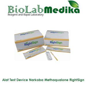 Rapid Test Device Narkoba Methaqualone RightSign