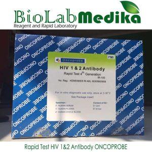 Rapid Test HIV 1&2 Antibody ONCOPROBE