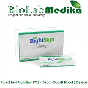 Rapid Test RightSign FOB ( Fecal Occult Blood ) Device
