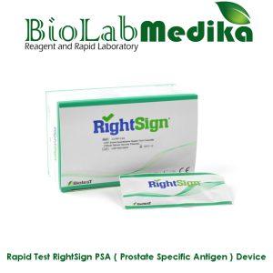 Rapid Test RightSign PSA ( Prostate Specific Antigen ) Device