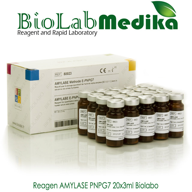 Reagen AMYLASE PNPG7 20x3ml Biolabo