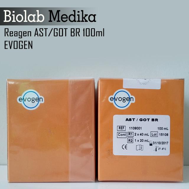 Reagen AST GOT BR 100ml Evogen