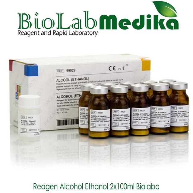 Reagen Alcohol Ethanol 2x100ml Biolabo