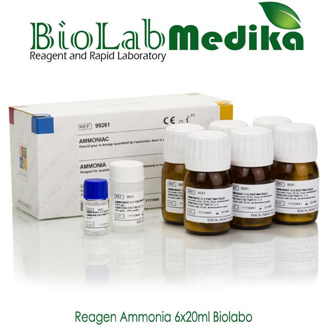 Reagen Ammonia 6x20ml Biolabo