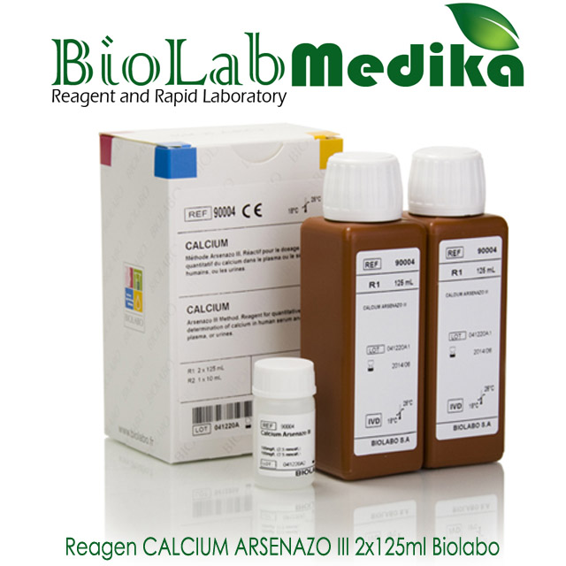 Reagen CALCIUM ARSENAZO III 2x125ml Biolabo
