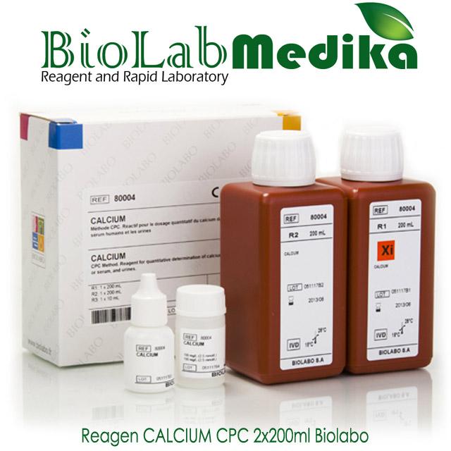 Reagen CALCIUM CPC 2x200ml Biolabo