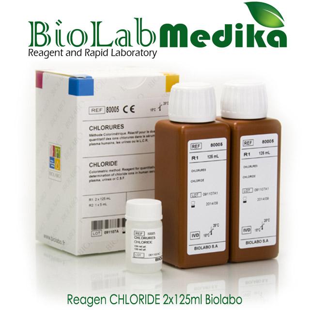 Reagen CHLORIDE 2x125ml Biolabo