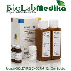 Reagen CHOLESTEROL CHOD-PAP  10x100ml Biolabo