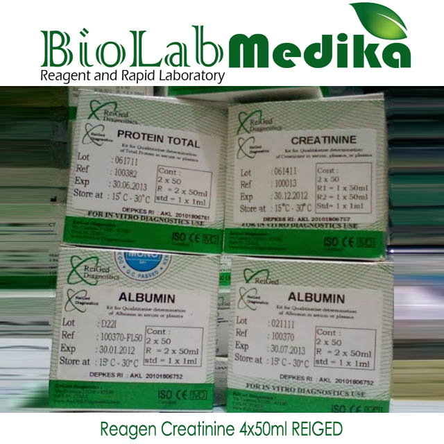 Reagen Creatinine 4x50ml REIGED