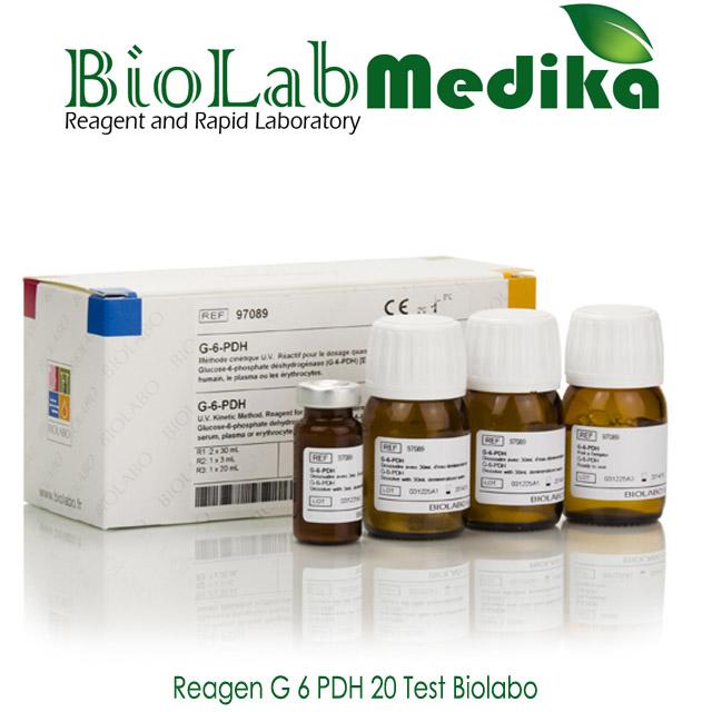 Reagen G 6 PDH 20 Test Biolabo