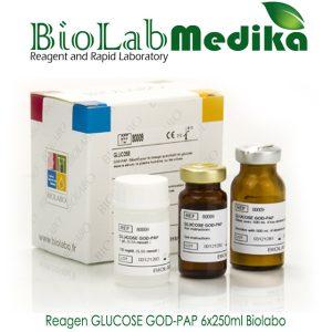 Reagen GLUCOSE GOD-PAP 6x250ml Biolabo