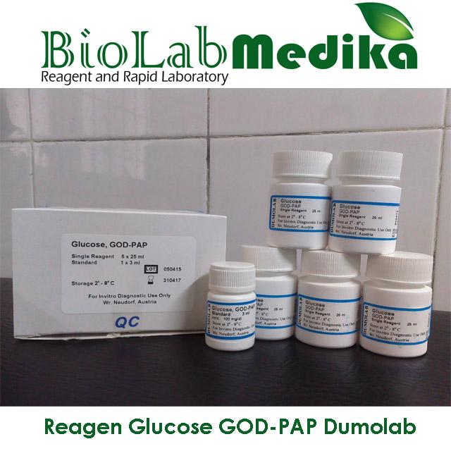 Reagen Glucose GOD-PAP Dumolab