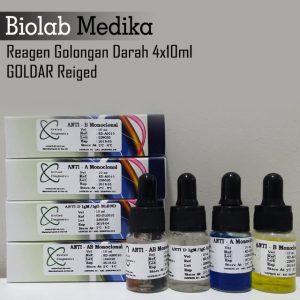 Reagen Golongan Darah 4x10ml Goldar Reiged