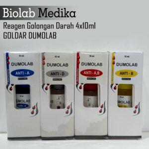 Reagen Golongan Darah 4x10ml Goldar Dumolab