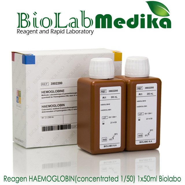 Reagen HAEMOGLOBIN 1x50ml Biolabo