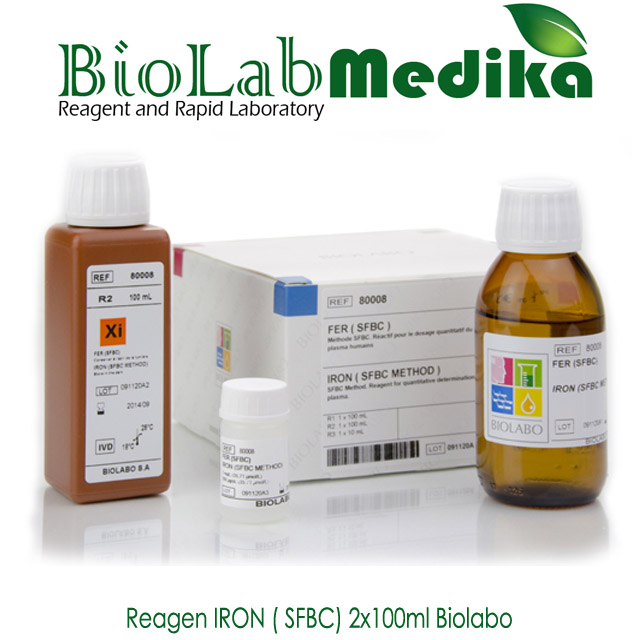 Reagen IRON ( SFBC) 2x100ml Biolabo