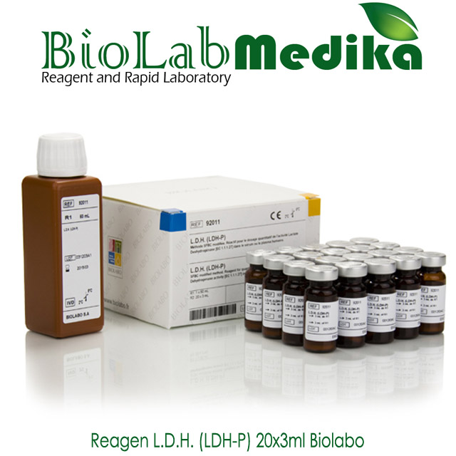Reagen L.D.H (LDH-P) 20x3ml Biolabo