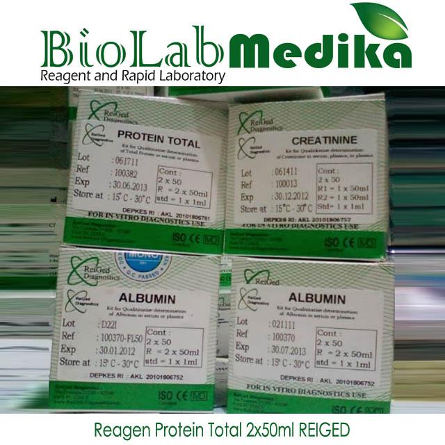 Reagen Protein Total 2x50ml REIGED