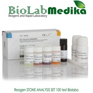 Reagen STONE ANALYSIS SET 100 test Biolabo