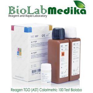 Reagen TGO (AST) Colorimetric 100 Test Biolabo