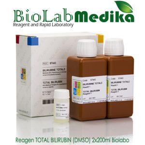 Reagen TOTAL BILIRUBIN (DMSO) 2x200ml Biolabo