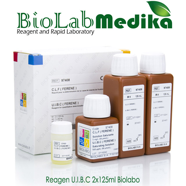 Reagen U.I.B.C 2x125 Biolabo