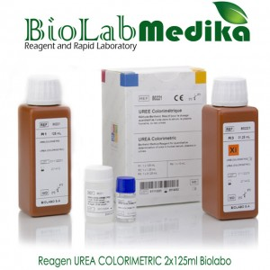 Reagen UREA COLORIMETRIC 2x125ml Biolabo