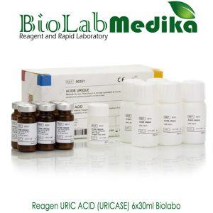 Reagen URIC ACID (URICASE) 6x30ml Biolabo