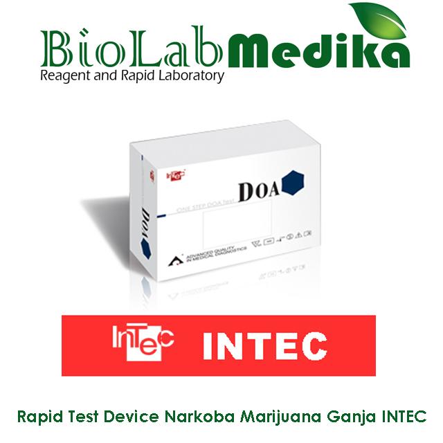 Rapid Test Device Narkoba Marijuana Ganja INTEC