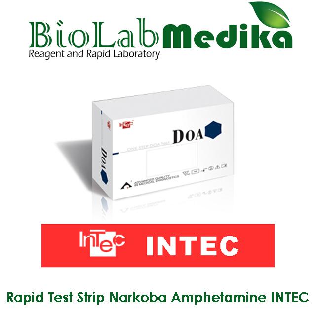 Rapid Test Strip Narkoba Amphetamine INTEC