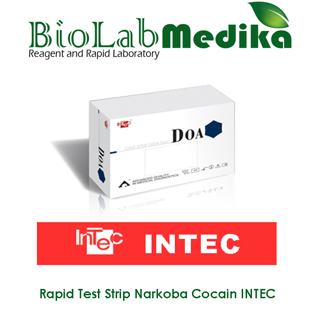 Rapid Test Strip Narkoba Cocain INTEC