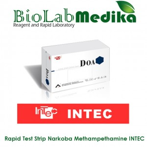 Rapid Test Strip Narkoba Methampethamine INTEC