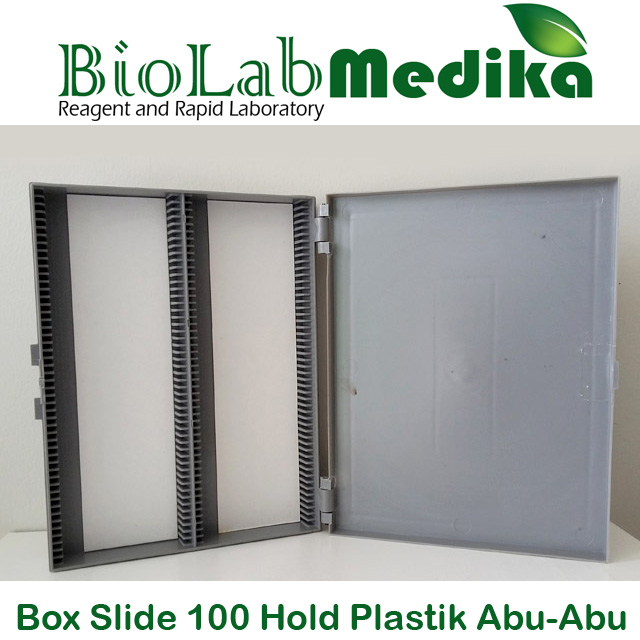 Box Slide 100 Hold Plastik Abu-Abu
