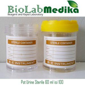 Pot Urine Sterile 60 ml isi 100