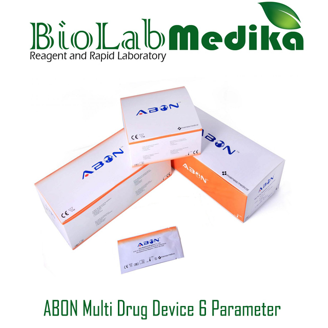 ABON Multi Drug Device 6 Parameter