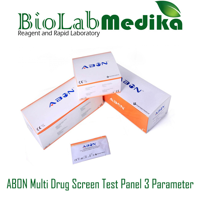 ABON Multi Drug Screen Test Panel 3 Parameter