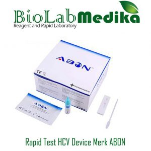 Rapid Test HCV Device Merk ABON