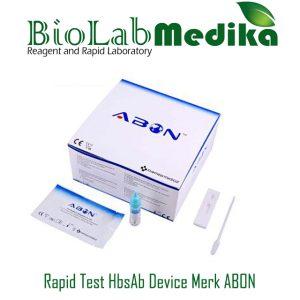 Rapid Test HbsAb Device Merk ABON