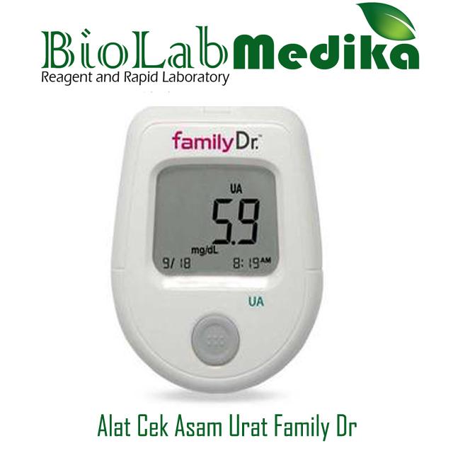 Alat Cek Asam Urat Family Dr