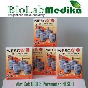Alat Cek GCU 3 Parameter NESCO